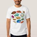 El acuario de agua dulce pesca la camiseta camisas