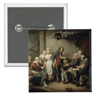 El acuerdo del pueblo, 1761 pin cuadrado
