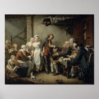 El acuerdo del pueblo, 1761 póster