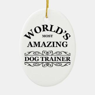 El adiestrador de perros más asombroso del mundo adorno