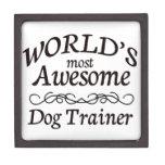 El adiestrador de perros más impresionante del mun cajas de joyas de calidad