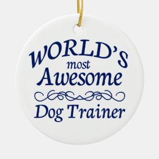 El adiestrador de perros más impresionante del mun ornatos
