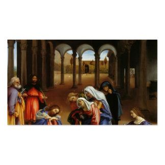 El adiós de Cristo de la loteria de Lorenzo a Mari Tarjetas De Negocios