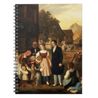 El adiós de Dorothea, Hermann de Goethe de 'y hace Libreta