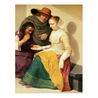 El adivino, 1631 postal