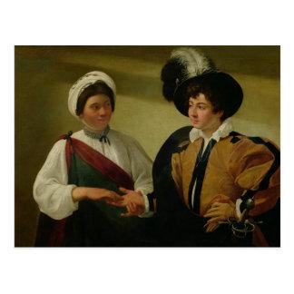 El adivino, c.1596-97 postales
