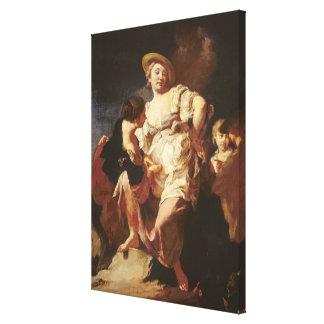 El adivino (L'Indivona), 1740 Lona Envuelta Para Galerias