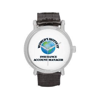 El administrador de cuentas más caliente del reloj