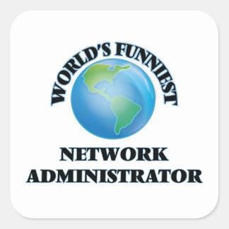 El administrador de la red más divertido del mundo colcomanias cuadradas