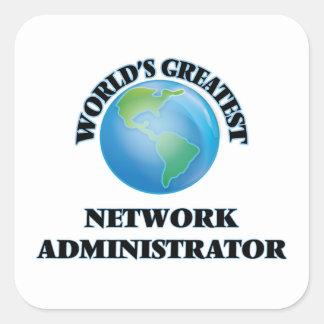 El administrador de la red más grande del mundo colcomanias cuadradas