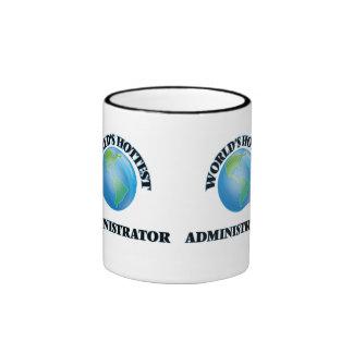 El administrador más caliente del mundo taza a dos colores