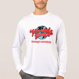 El administrador más grande del Paralegal del mund Camisetas