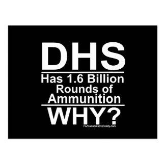 ¿El ADO tiene 1,6 mil millones rondas de munición Postal