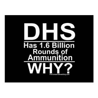 ¿El ADO tiene 1,6 mil millones rondas de munición Tarjetas Postales