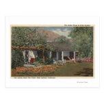 El Adobe (la casa más vieja en Palm Springs) Postal