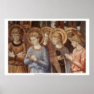 El adorar de los ángeles (ascendentes cercanos) impresiones