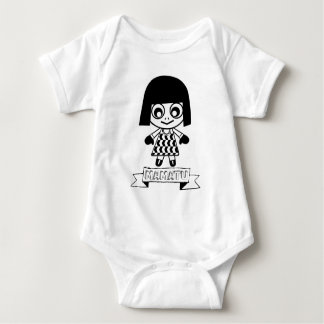 EL ADVENGER del dibujo animado de los caracteres Body Para Bebé