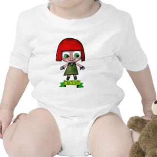 EL ADVENGER del dibujo animado de los caracteres Trajes De Bebé