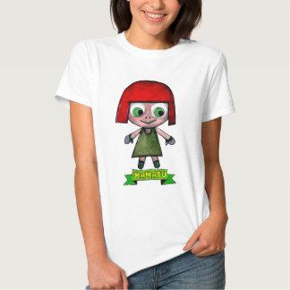 EL ADVENGER del dibujo animado de los caracteres Playera