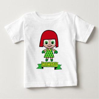 EL ADVENGER del dibujo animado de los caracteres Playera De Bebé