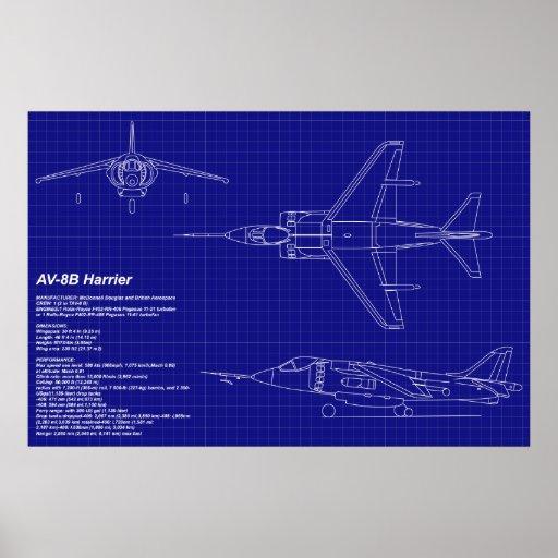 El aeroplano Blueprints el corredor de cross del | Póster