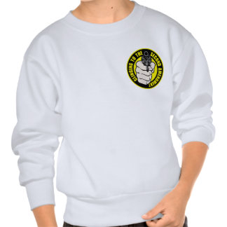 El aferrarse en la segunda enmienda suéter