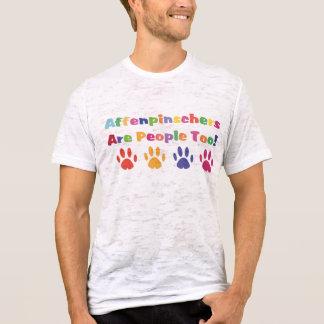 El Affenpinscher es gente también Playera