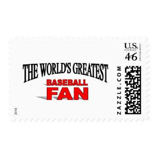 El aficionado al béisbol más grande del mundo franqueo