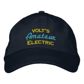 El aficionado de voltio eléctrico gorras bordadas