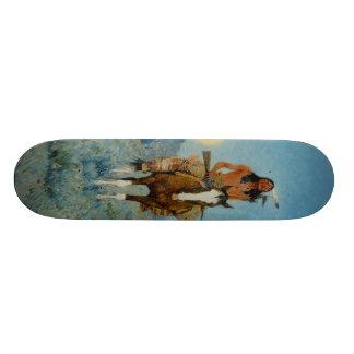 El afloramiento 1909 de Federico Remington Skate Boards