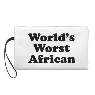 El africano peor del mundo