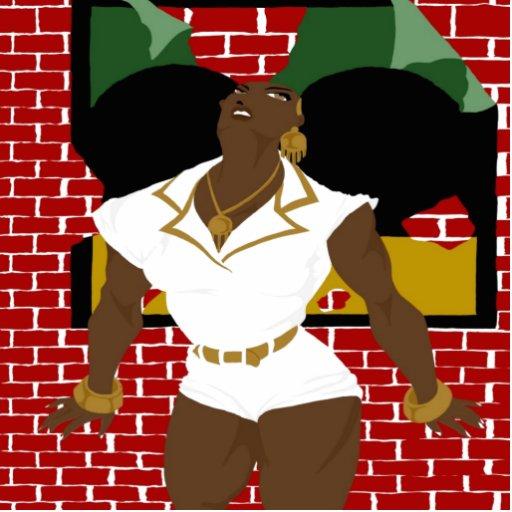 El Afro sopla los Pinups 4 (el Sketchbook favorabl Escultura Fotografica