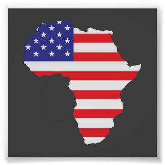 El afroamericano África Estados Unidos señala por Fotografías