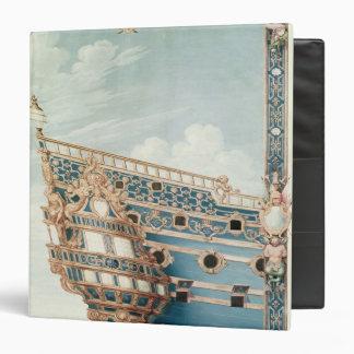 "El Aftercastle de 'Le Soleil Royal' Carpeta 1 1/2"""