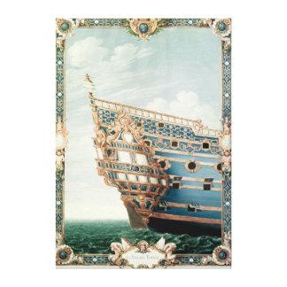 El Aftercastle de 'Le Soleil Royal' Impresiones De Lienzo