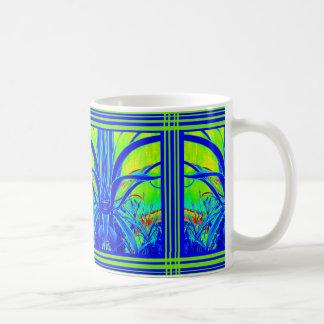 El agavo azul tropical deja la taza por Sharles