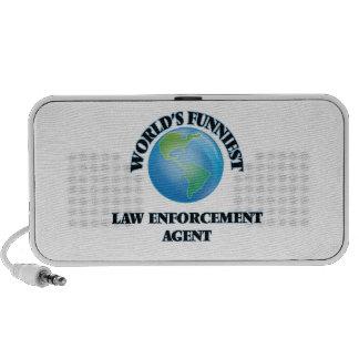 El agente de aplicación más divertido de la ley iPod altavoz
