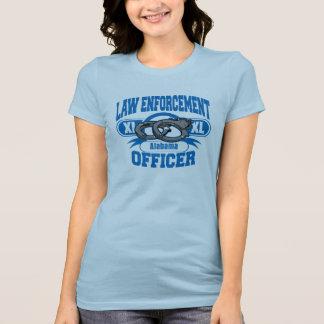 El agente de la autoridad esposa Alabama Camisetas