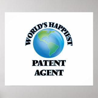 El agente de la patente más feliz del mundo póster