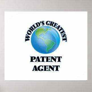 El agente de la patente más grande del mundo poster