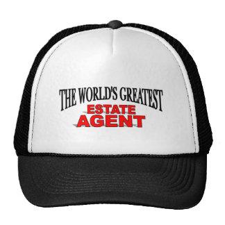 El agente de la propiedad inmobiliaria más grande  gorras de camionero