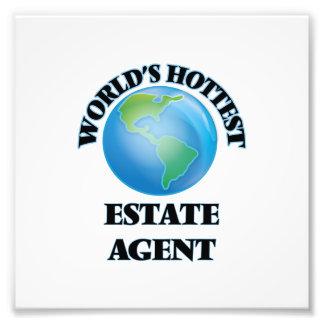 El agente de la propiedad inmobiliaria más impresion fotografica