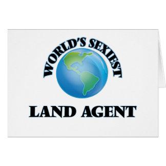 El agente de la tierra más atractivo del mundo felicitaciones