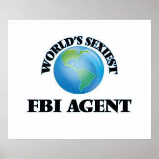 El agente del FBI más atractivo del mundo Poster