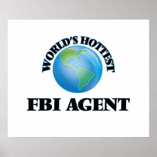 El agente del FBI más caliente del mundo Poster