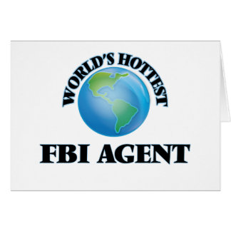 El agente del FBI más caliente del mundo Felicitacion