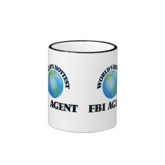 El agente del FBI más caliente del mundo Taza De Dos Colores