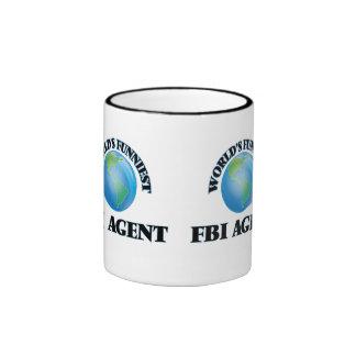 El agente del FBI más divertido del mundo Taza De Dos Colores