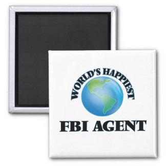 El agente del FBI más feliz del mundo Imán Cuadrado