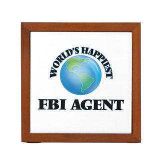 El agente del FBI más feliz del mundo Portalápices